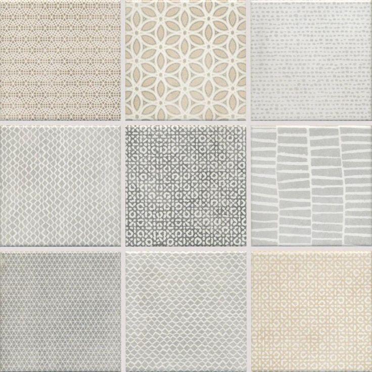 "Jasba Pattern Mosaik ""Mesh"" natur mix 10x10 cm in 2020"