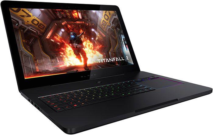 Razer Blade Pro : un laptop aussi puissant qu'un PC gamer - Le nouveau Razer Blade Pro est équipée d'un écran G-Sync IGZO 17.3 pouces, du dernier processeur quad-core Intel i7, d'une carte graphique Nvidia GeForce GTX 1080, jusqu'à 2 To de stockage SSD et ...