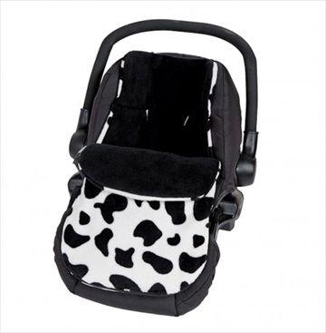 CLAIR DE LUNE Bilstolpose - Fun n Funky Mu Mu. Hold babyen varm og koselig når de er i bilen med denne eksklusive bilstolpose laget i Storbritannia av babyprodukter produsent, Clair de Lune. Denne nydelig bilstolposen er laget av supermyk 'fleece' - perfekt til å holde babyen varm i kalde dager. Egnet for bruk i en gruppe 0 bilstol/Infant Carrier Car Seat med en 5 punkts sikkerhetssele. Kr 459
