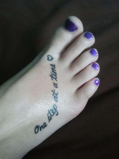 foot tattoo quote foot tattoo quote foot tattoo quote idea