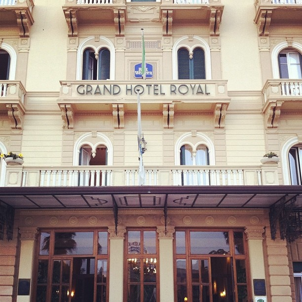 BEST WESTERN Grand Hotel Royal Viareggio-Versilia, Italy via @miakod-#statigram