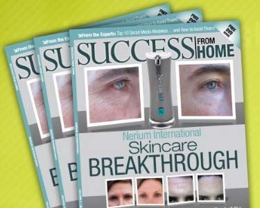 Nerium AD Youngest Company to be Featured in Success from Home Magazine. - http://better-health-energy.com/wordpress/2012/01/28/nerium-ad-youngest-company-to-be-featured-in-success-from-home-magazine/