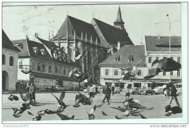 Amintiri din Brasov: Piata Sfatului, 1967 #brasov #romania #piatasfatului