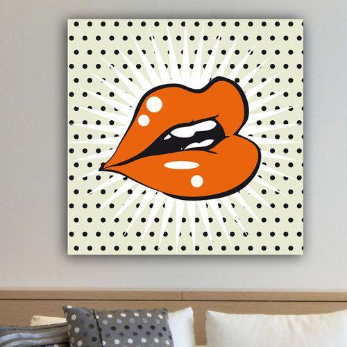 les 36 meilleures images du tableau tableau pop art sur pinterest pop art toile et tableau. Black Bedroom Furniture Sets. Home Design Ideas