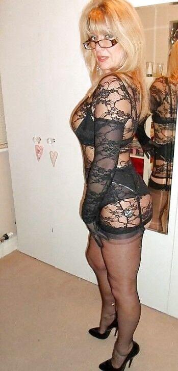legs Sexy stockings women mature