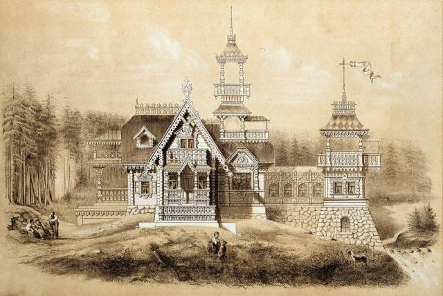Neorussian style in 19th cetury architecture.