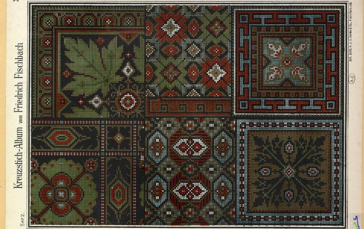Gallery.ru / Фото #26 - старинные ковры и схемы для вышивки - SvetlanN