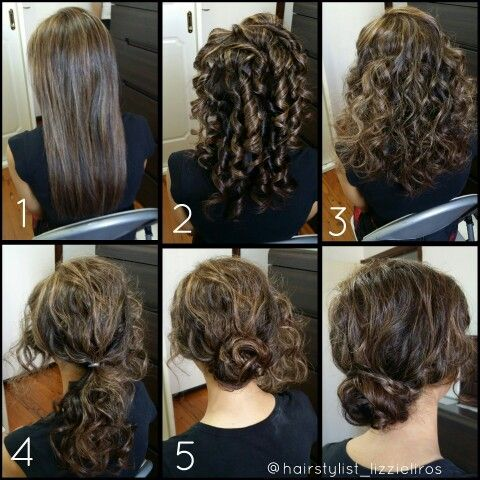 Textured knot with plait