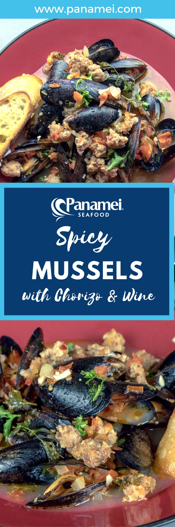 There are many ways to cook mussels, and if you like spicy foods, this recipe is for you!