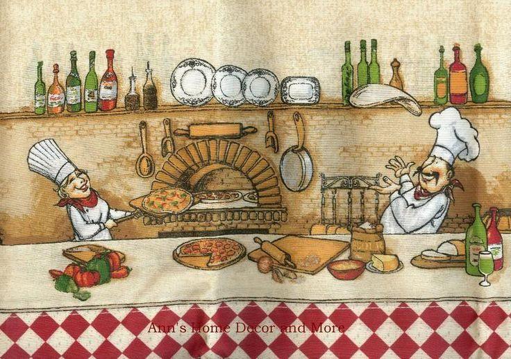 Italian Fat Chef Kitchen Curtain Valance Red Border | Fat Chef Kitchen |  Pinterest | Kitchen Decor Themes, Kitchen Decor And Kitchens