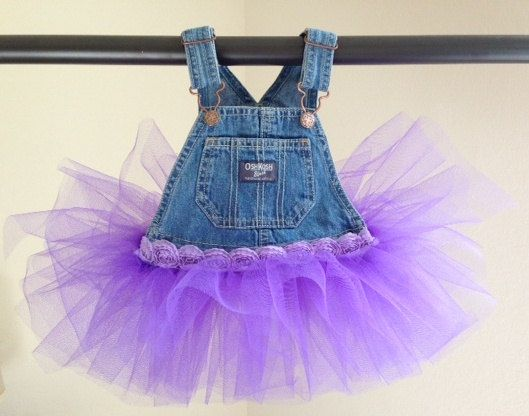 Overall Tutu Dress by GoldenFern on Etsy