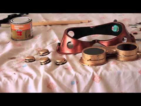 Steampunk Goggles Tutorial - YouTube
