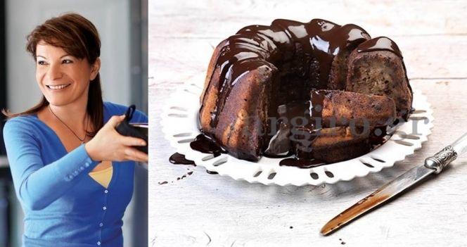 Μπανάνα κέικ με κρέμα σοκολάτας από την Αργυρώ!