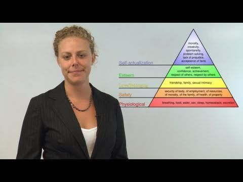 Expanded Maslow's Hierarchy of Needs, Human Needs, Self Actualization, Humanistic Psychology