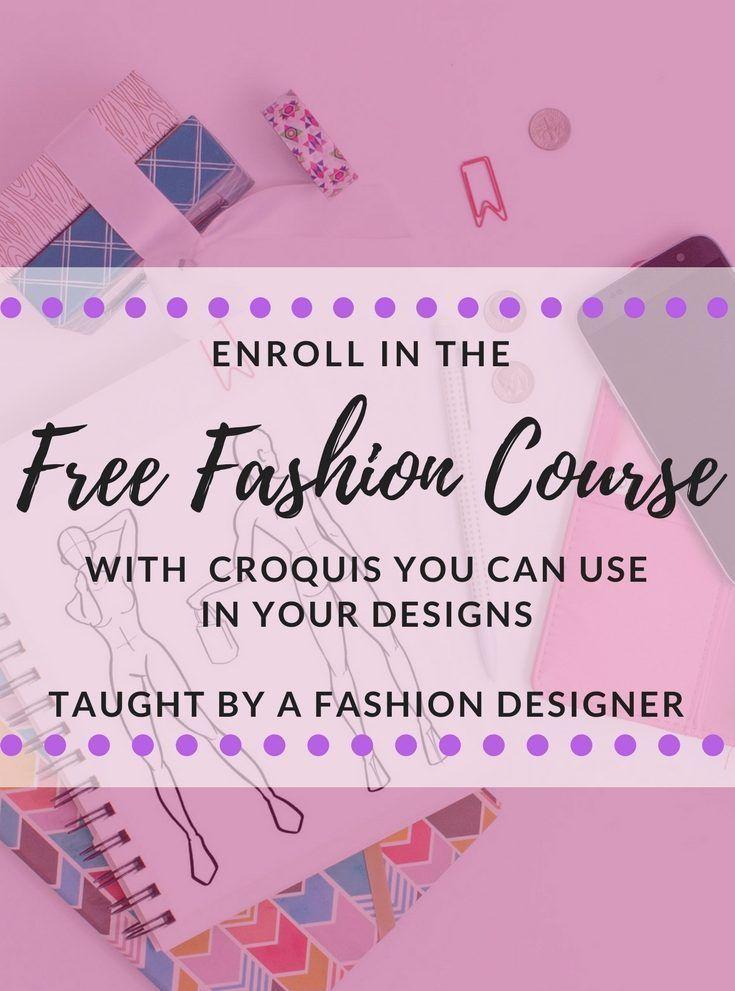 Free Fashion Illustration Mini Course Golden Rippy Fashion Designing Course Fashion Design Classes Illustration Courses