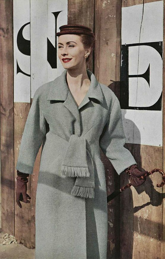 Jessie Mae or Carrie - Balenciaga Coat, 1953