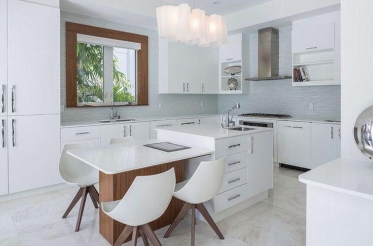 les 7 meilleures images du tableau cuisine dinatoire amenagement sur pinterest cuisines. Black Bedroom Furniture Sets. Home Design Ideas