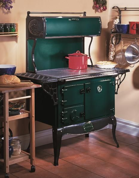 The Waterford Stanley Wood Cookstove with Warming Closet 7000.00