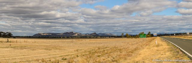 Austravelia: Grampians National Park: Arising from the Ashes