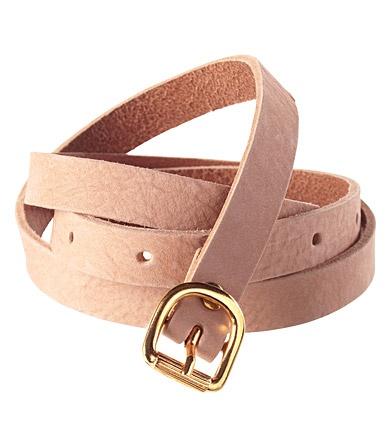 leather belt...h&m