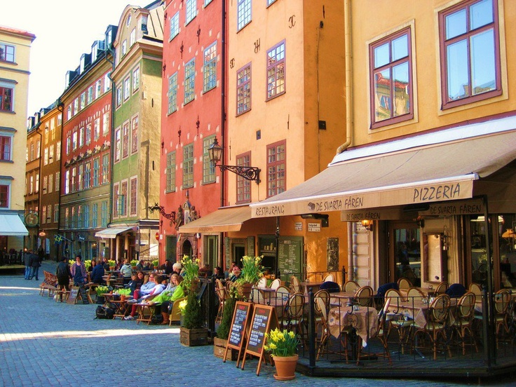 Gamla Stan is one of the largest and best preserved medieval city centers in Europe, and one of the foremost attractions in Stockholm. This is where Stockholm was founded in 1252.