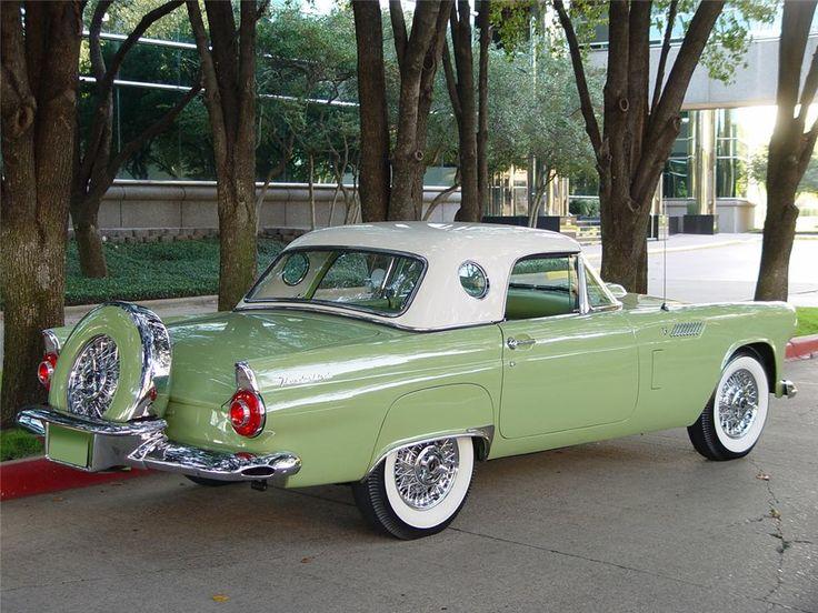 1956 FORD THUNDERBIRD CONVERTIBLE – Barrett-Jackson Auction Company – World'…