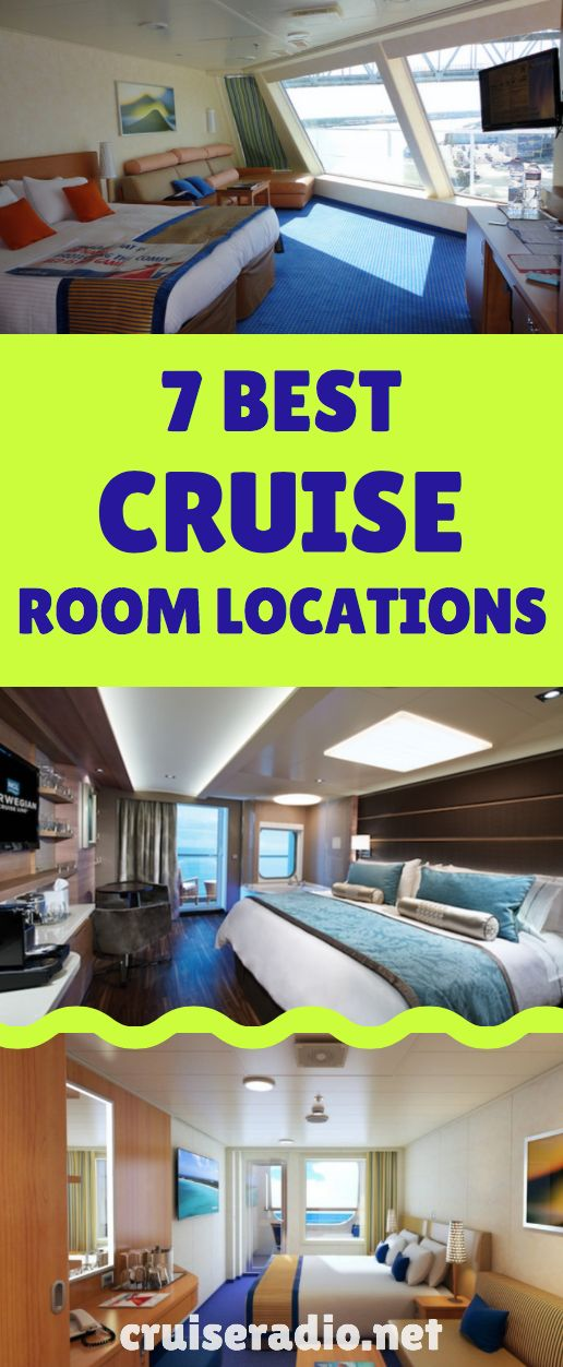 7 Best Cruise Ship Room Locations