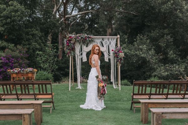 Boho Glamping Wedding Inspiration