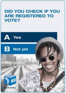 Don't be lazy - go and register: Voter registration