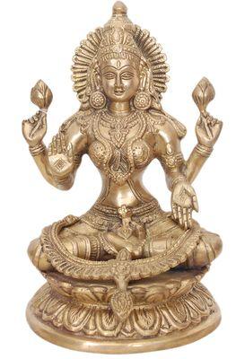 Lakshmi Devi,Brass