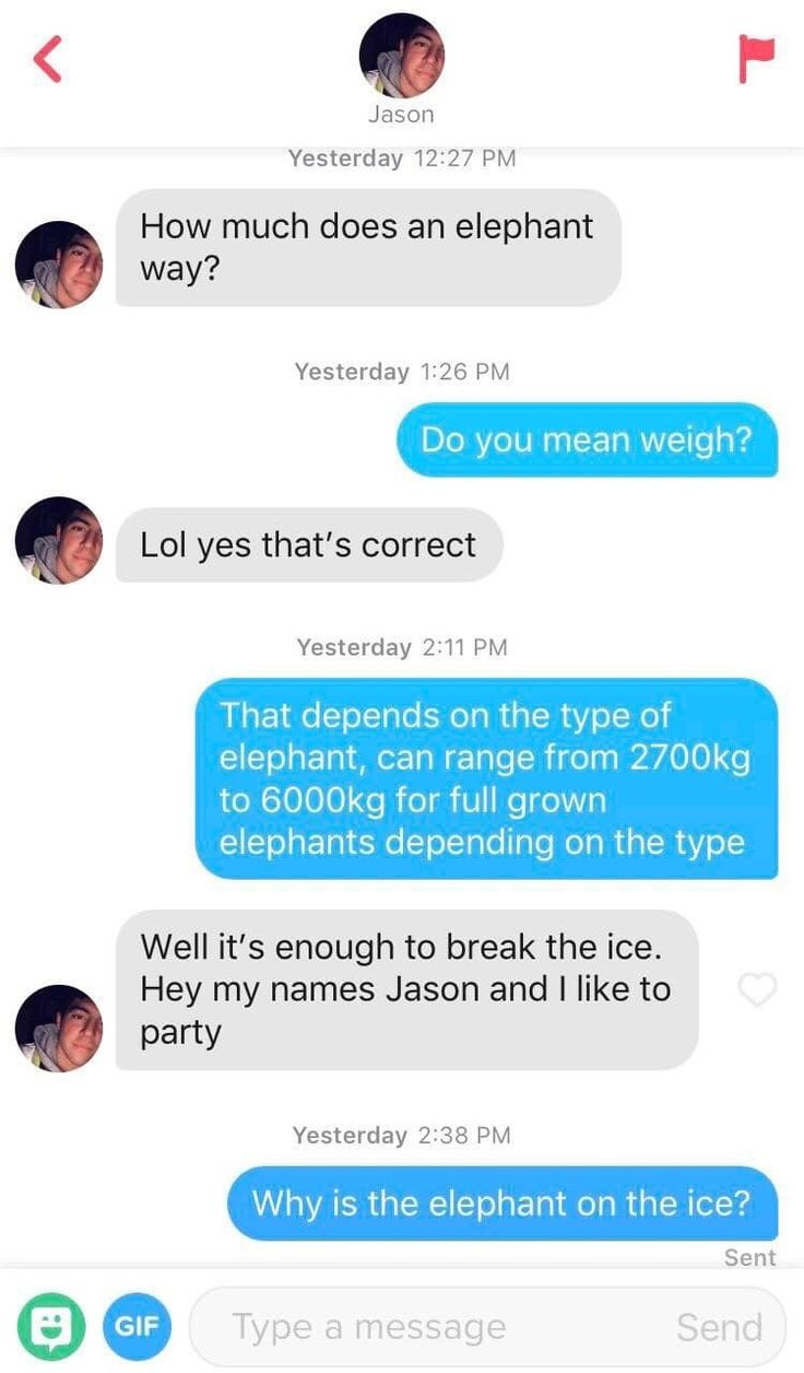 22 Tinder Screenshots That Will Take You Through A Wide