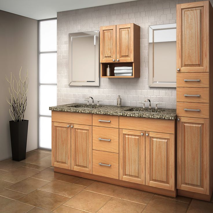 Bowen Oak, Classic and traditional.  EuroRite Cabinets - Available at Yorkton Building Supplies.