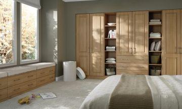 Beech Bedroom Doors - By BA Components