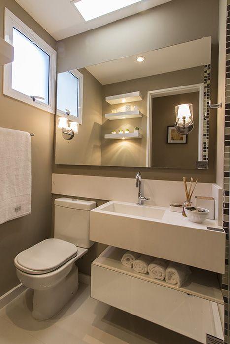 Banheiro do apartamento de 2 dormitórios do Follow