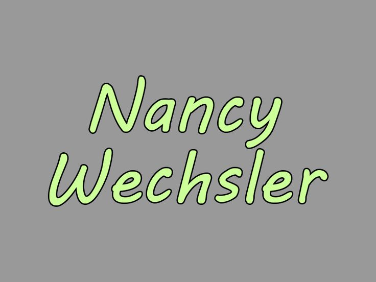 Nancy Wechsler | Our Queer History | Queer History