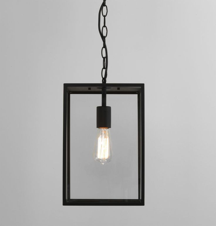 Buy this Astro Lighting Homefield 360 Outdoor Hanging Pendant Black Frame and…