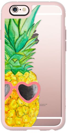 Casetify iPhone 6s New Standard Case - Pink Pineapple by Lauren Davis #Casetify