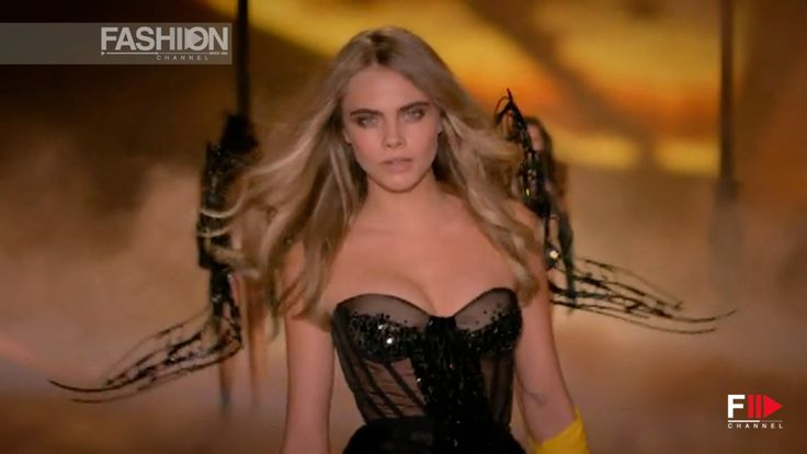 "VICTORIA'S SECRET Fashion Show 2013 Focus on ""CARA DELEVINGNE"" by Fashion Channel"