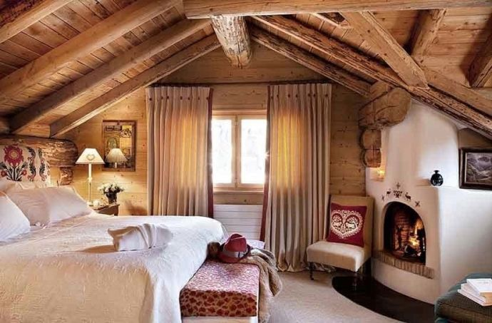 bedroom Chalet-style