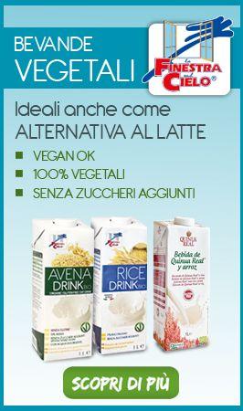 Scopri le bevande biologiche vegetali senza glutine di La Finestra sul Cielo, sono l'ideale alternativa al latte. #glutenfree