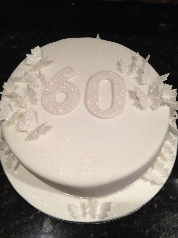 Elegant Birthday Cakes for Women   Elegant 60th Birthday Cakes http://www.hairebearsbakery.com/simple-and ...