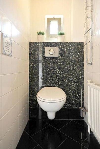 63 best wc ontwerp images on pinterest bathrooms toilet for Toilet betegeld