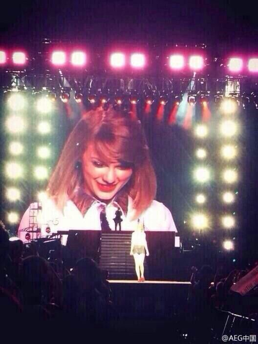 Taylor Swift Red Tour Shanghai 30/05/14