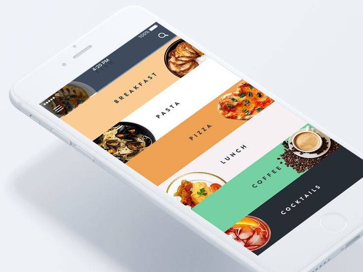Restaurant-booking app by Anton Borzenkov #Design Popular #Dribbble #shots
