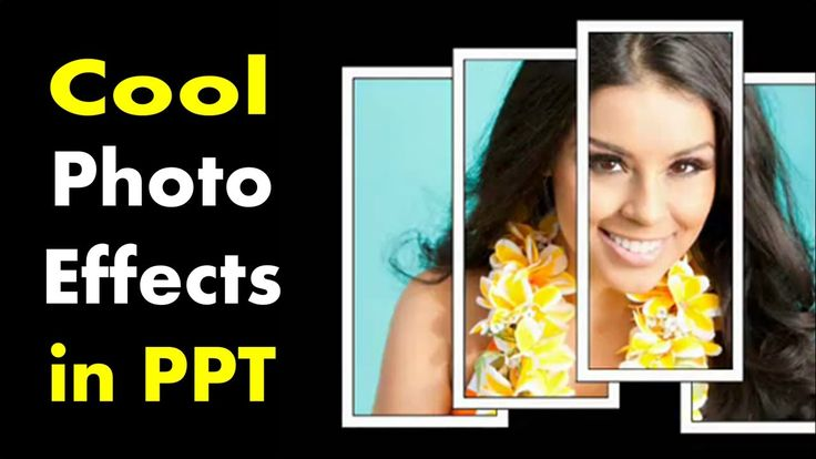 How to Make Cool Photo Designs - PowerPoint Effect Tutorial