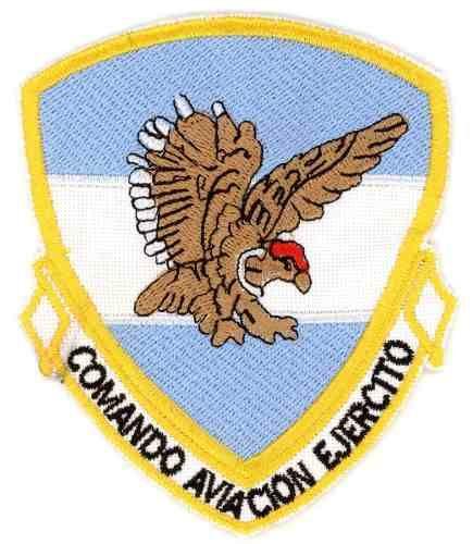 Parche Bordado-comando De Aviacion
