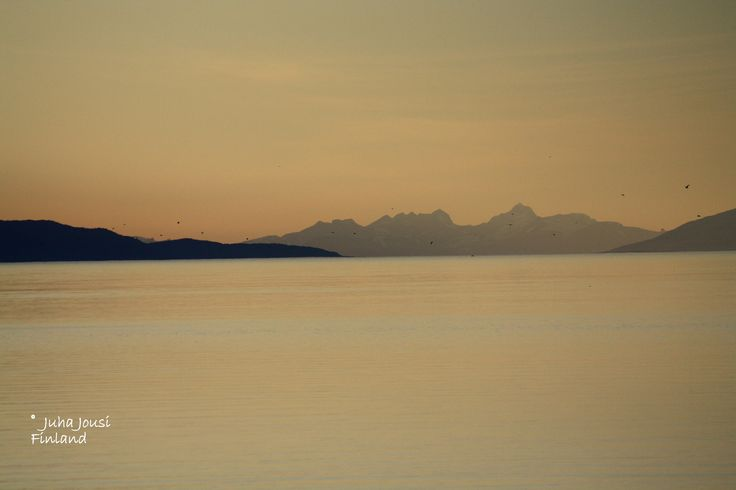 Artic calm summer night at Norway by Juha Jousi