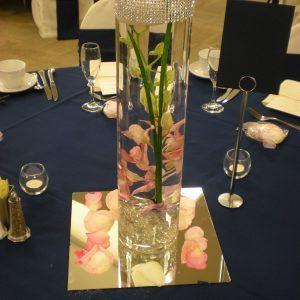 Cylinder Vase Flower Centerpieces