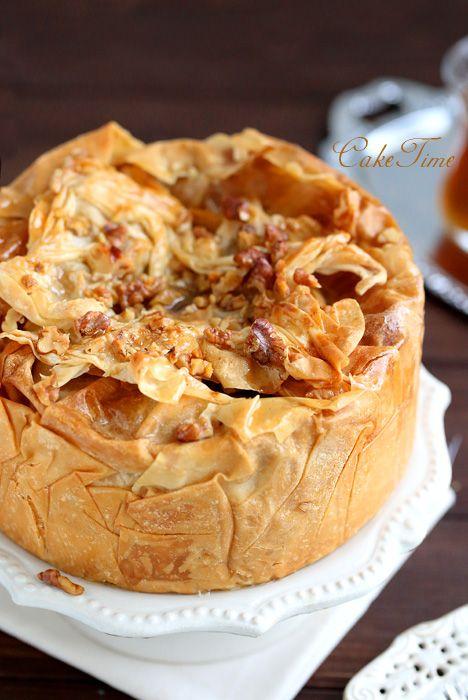 baklava cheesecake / baklava cheesecake