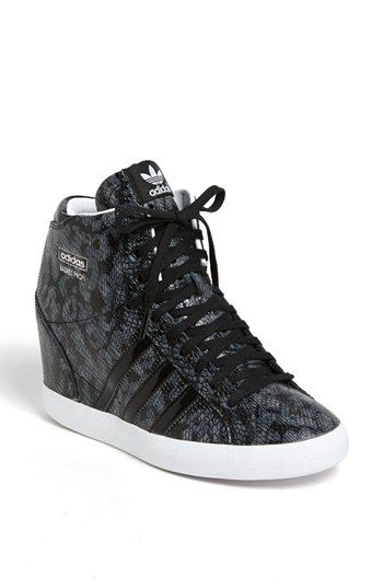 adidas \u0027Basket Profi\u0027 Hidden Wedge Sneaker (Women) available at #Nordstrom